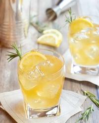 Lemon-ginger-bourbon-cocktail